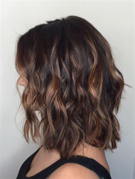 balayage for medium short hair best balayage on short hair 2017 short dark hair dark