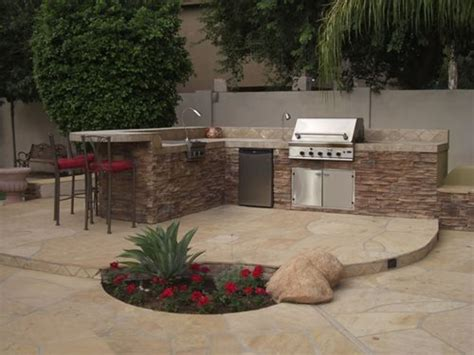 The Backyard Kitchen Landscaping Landscaping Network
