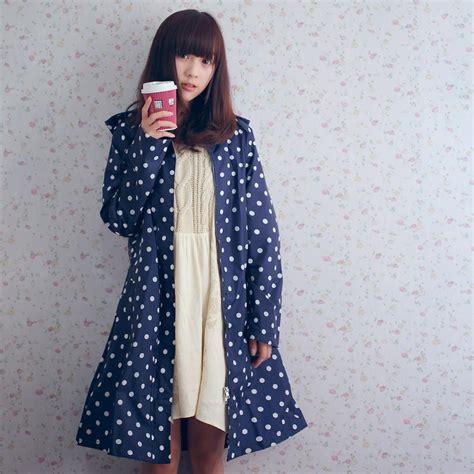 Blue Biru Wanita Bahan Lembut Termurah hujan mantel kain beli murah hujan mantel kain lots from