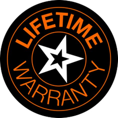 lifetime warranty logo lifetime warranty powerhand athletic