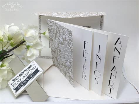 Hochzeitseinladung Collage by Videoanleitung F 252 R Die Hochzeitseinladung Stin Up