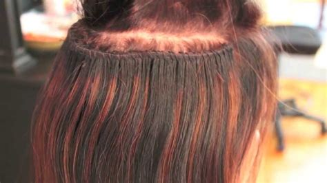 pictures of hair weaves on caucasion women caucasian track extensions braided sew in method youtube