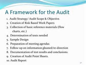 audit terms of reference template basic auditing presentation