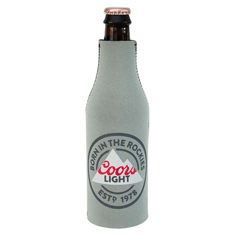 coors light mountain cooler coors light born in the rockies bottle cooler