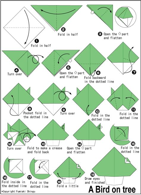 tutorial origami ular kopast beberapa gambar tutorial pembuat origami