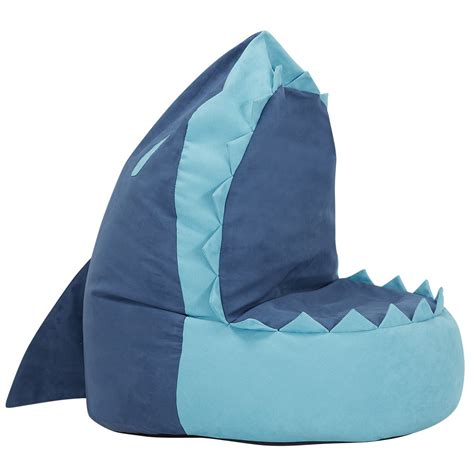Shark Bean Bag City Furniture Shark Blue Bean Bag