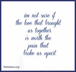 Love Quotes About Breaking Up breaking up sad love quotes submited images