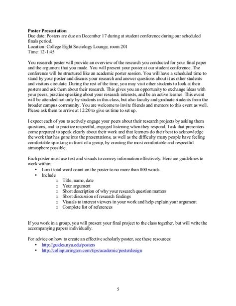 student research paper research paper and student conference sequence
