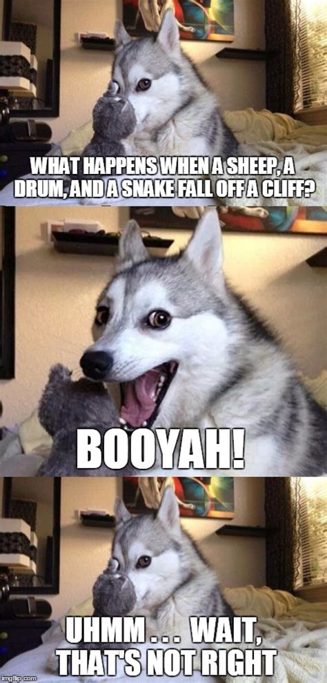Dog Pun Meme - pun dog meme