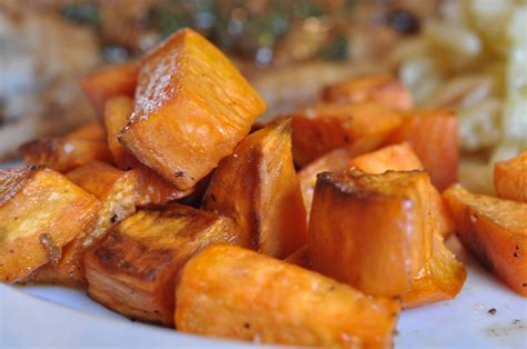 simple roasted yams foods of our lives