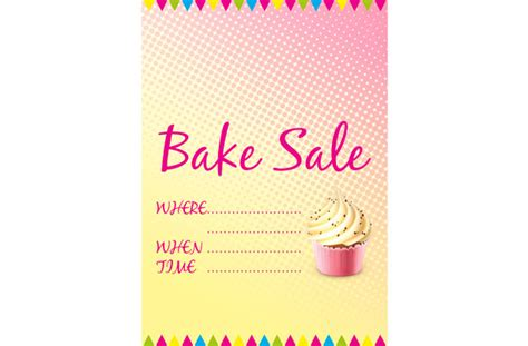 bake sale template free bake sale signs and labels goodtoknow