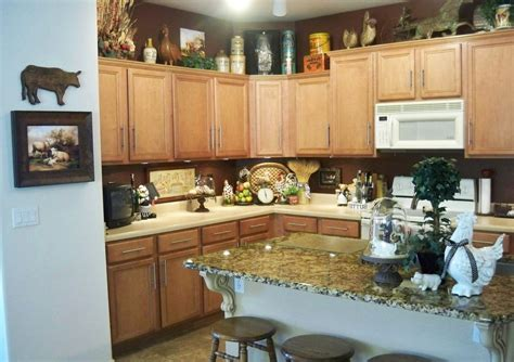 Decor Ideas For Kitchens Country Themed Kitchen Decor Kitchen Decor Design Ideas