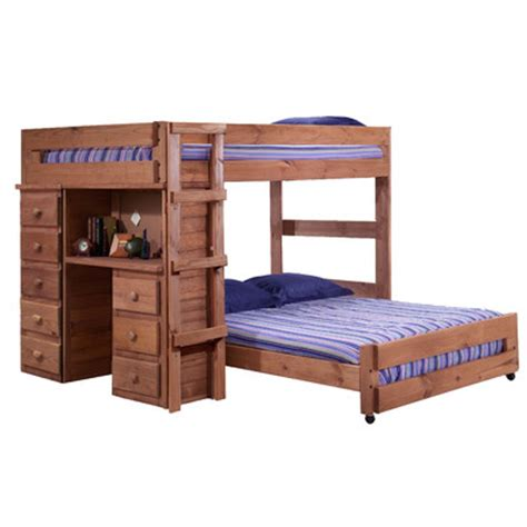 L Shaped Bunk Beds With Storage L Shaped Bunk Bed With Storage Wayfair