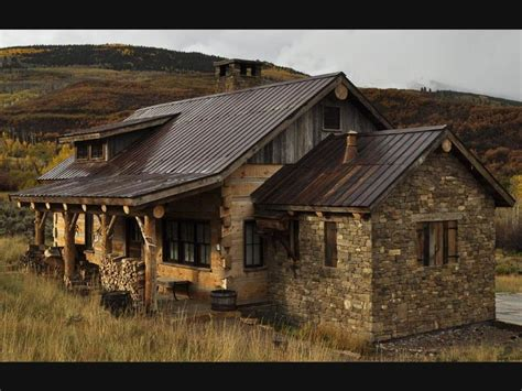 the homestead is a weathered fieldstone from the plains of