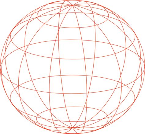 The Globe Outline by Globe Outline Clip At Clker Vector Clip Royalty Free Domain