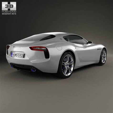 2014 Maserati Models by Maserati Alfieri 2014 3d Model Hum3d