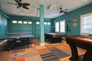 garage room garage converted to recreation game room home ideas