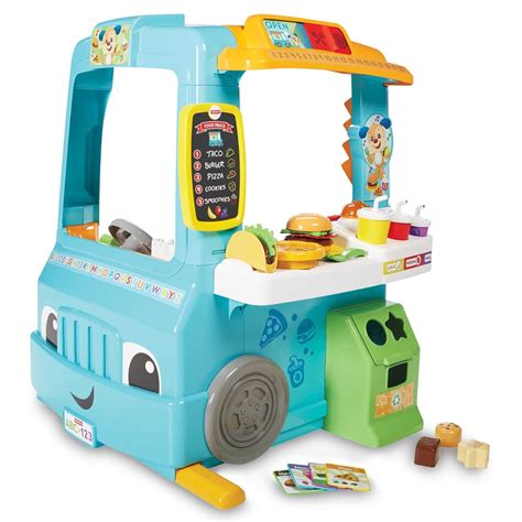 Fisher Price Car Bed by Fisher Price Laugh Learn Servin Up Food Truck Foodie