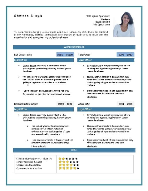 Recruiter Sample Resume by Resume Format Samples Download Free Professional Resume