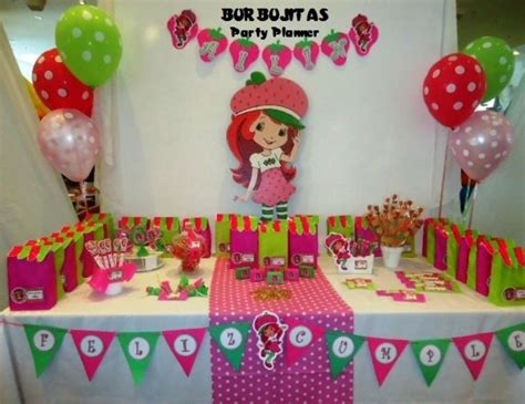Strawberry Shortcake Baby Shower Theme by Strawberry Shortcake Birthday Quot Cumplea 241 Os De Ail 237 N