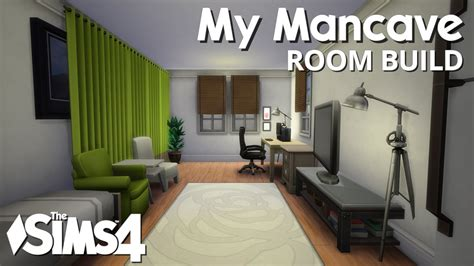 build my room the sims 4 room build my mancave youtube