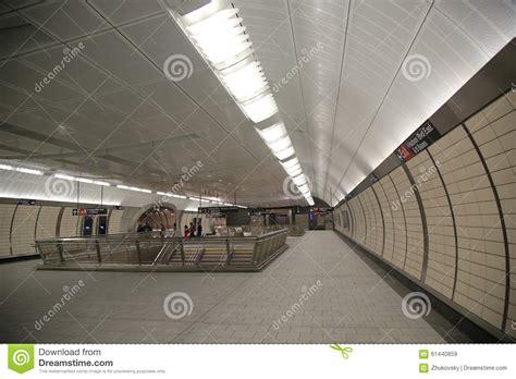 34 street hudson yards subway station interior design in ny editorial stock image image 61440859