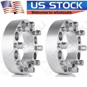 2pcs 2 quot wheel spacers adapters for ford dodge ram 8x6 5