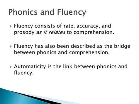 the three r s of phonics relationships relevance and