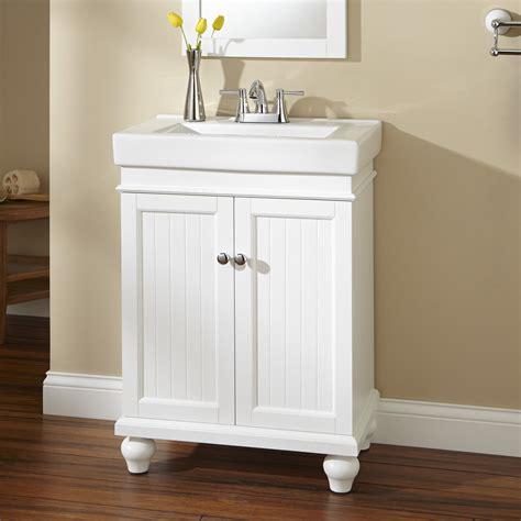 24 bathroom vanity cabinet with sink 24 lander white vanity cabinet and sink