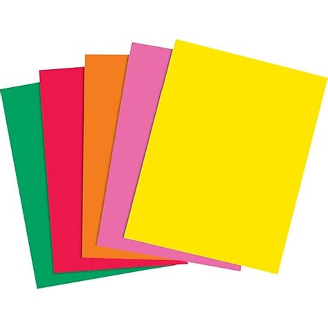 color printing staples staples brights 24 lb colored paper assorted colors