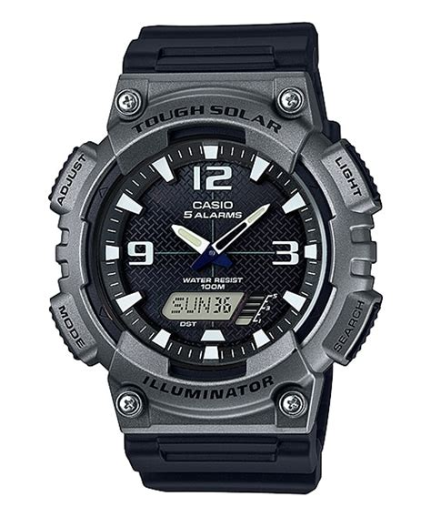 Casio Original Analog Digital Aq S810w 1bvdf For Mens aq s810w 1a4v analog digital combination youth timepieces casio