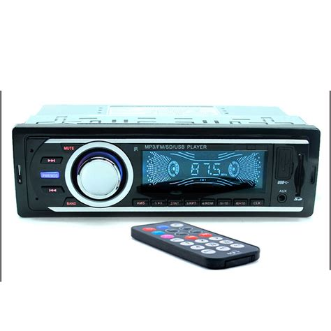 car radio 12v sd usb slot aux input auto radio car fm mp3