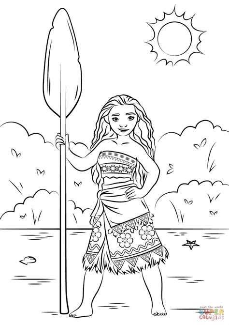 disney coloring pages you can color online get this disney moana coloring pages pl21z