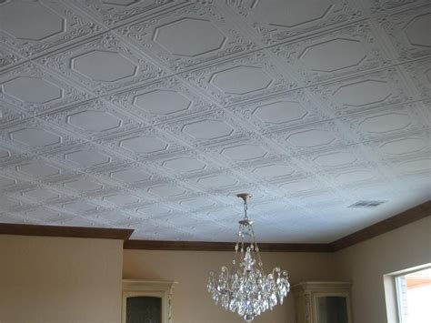 Decorative Ceiling by Styrofoam Ceiling Tiles Finished Projects Images Photo