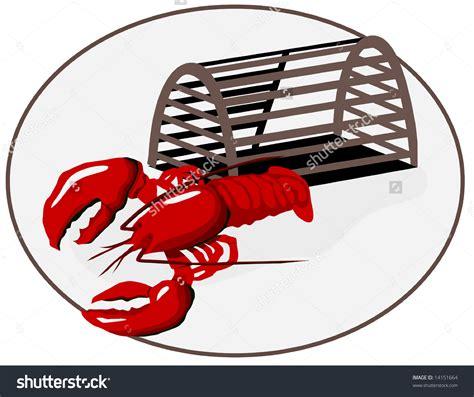 lobster clip lobster trap clipart clipground