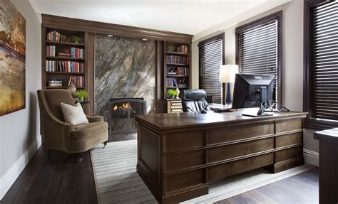 home office design books terrific luxury home office design with marble wall firelace also brown wingback chair also