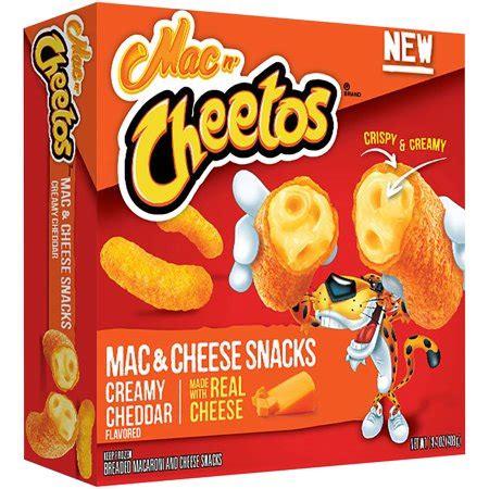 Mac N Cheetos mac n cheetos 174 cheddar mac cheese snacks 14 4 oz