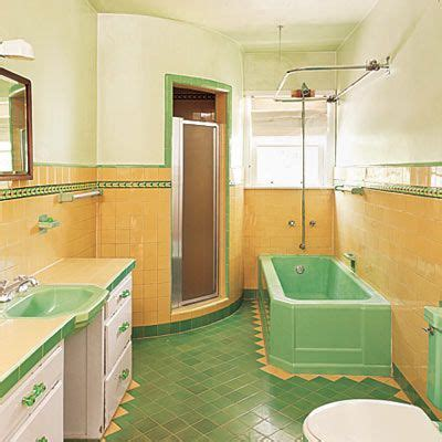 Bathroom Yellow And Green 17 Best Images About Vintage Bathroom On