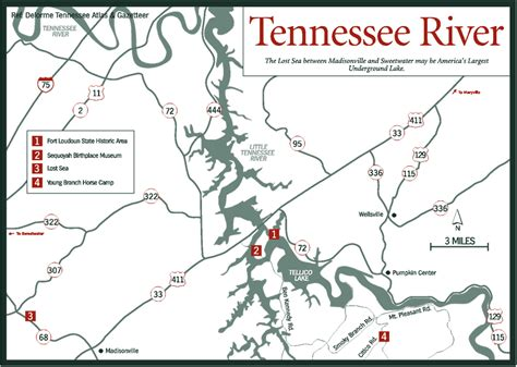 tennessee river map tennessee river basin map swimnova