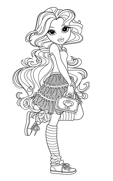 moxie girlz coloring pages3 coloring kids