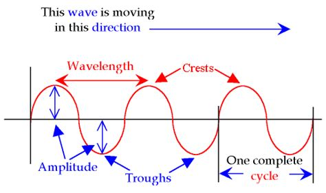labelled diagram of a transverse wave waves 1st hour team 1 livebinder
