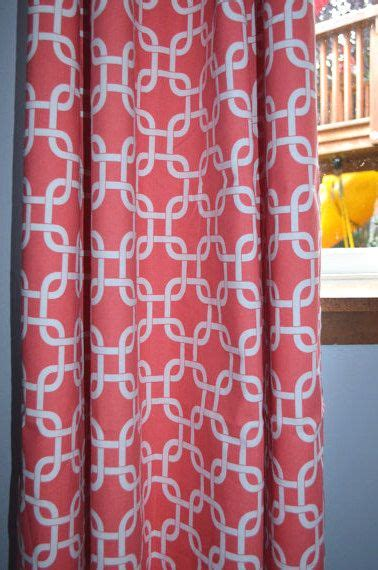 coral patterned curtains 25 best ideas about coral curtains on pinterest peach