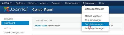 joomla template zugewiesen joomla 3 x wie 228 ndert man die copyright informationen im