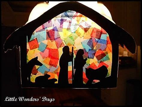 super simple catholic christmas crafts to make with your kids