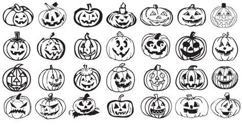imagenes halloween vectorizadas 5 sets de siluetas vectorizadas de halloween puerto