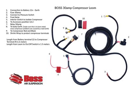 12v air compressor wiring diagram air compressor power