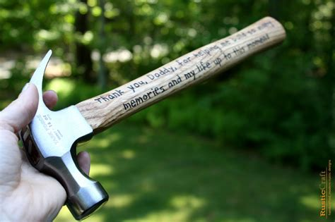 best man gifts personalized hammer engraved hammer 5th anniversary
