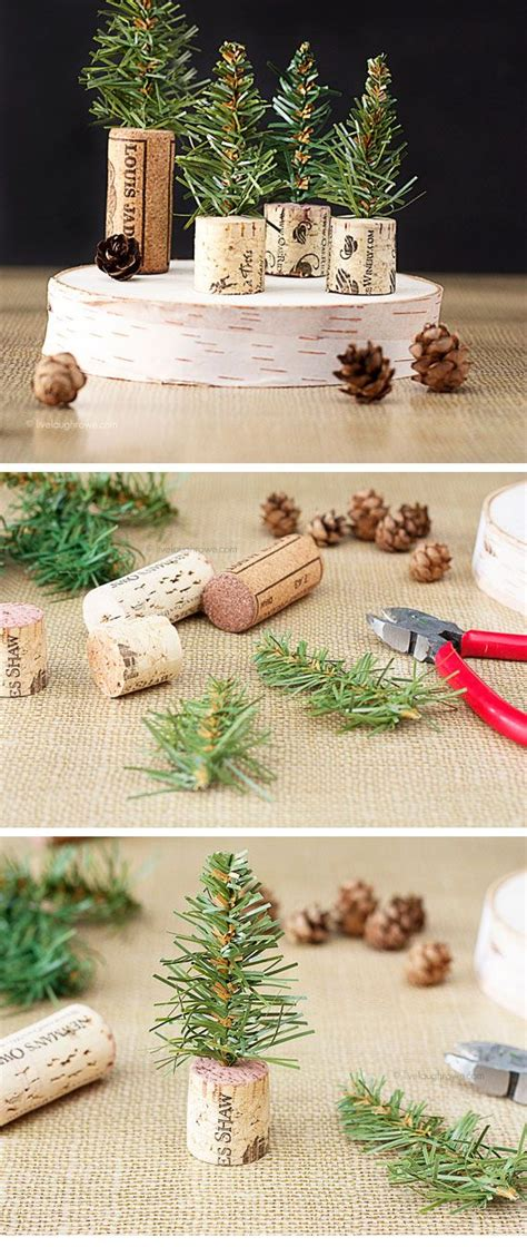 wine decorations for the home simple wine cork trees click for 25 diy white