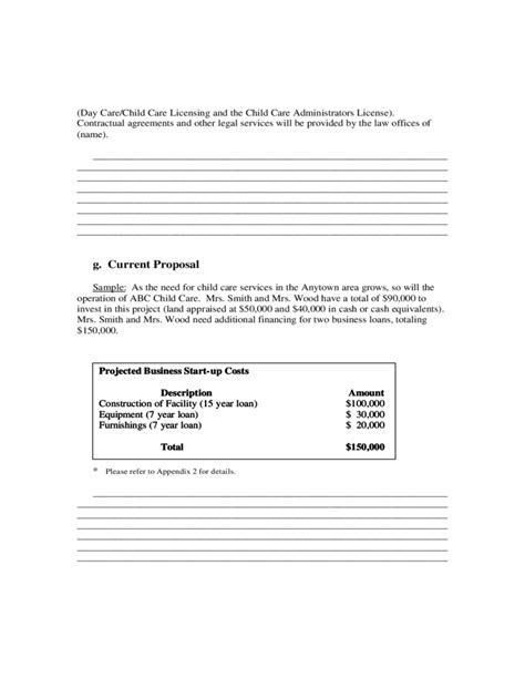 general business plan template sle business plan free