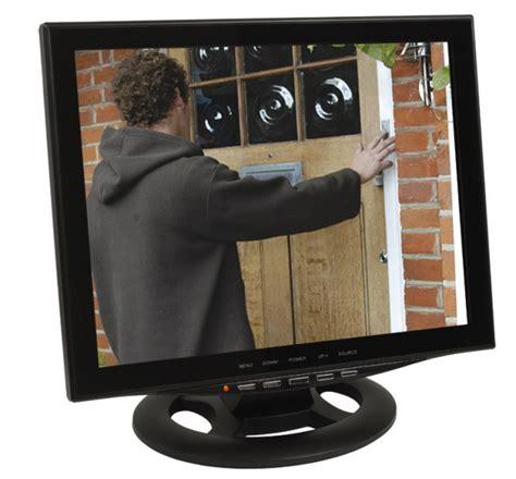 monitor bnc eingang 15 quot 38cm cctv monitor 220 berwachungsmonitor mit led